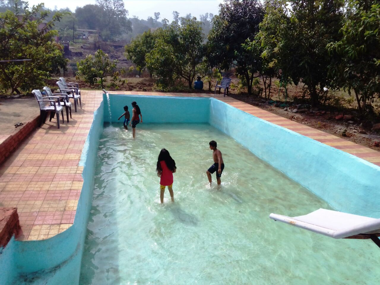 Vaijanath farmhouse on rent with swimming pool one day - Titwala farmhouse with swimming pool ...